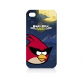 Angry Birds Protective Case Space Bird Red for iPhone 4, 4S (ICAS401G)